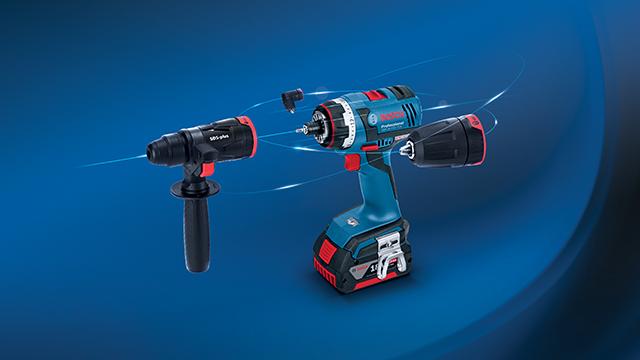 Nuevo<br>Atornillador a batería<br>GSR 18V-EC FC2